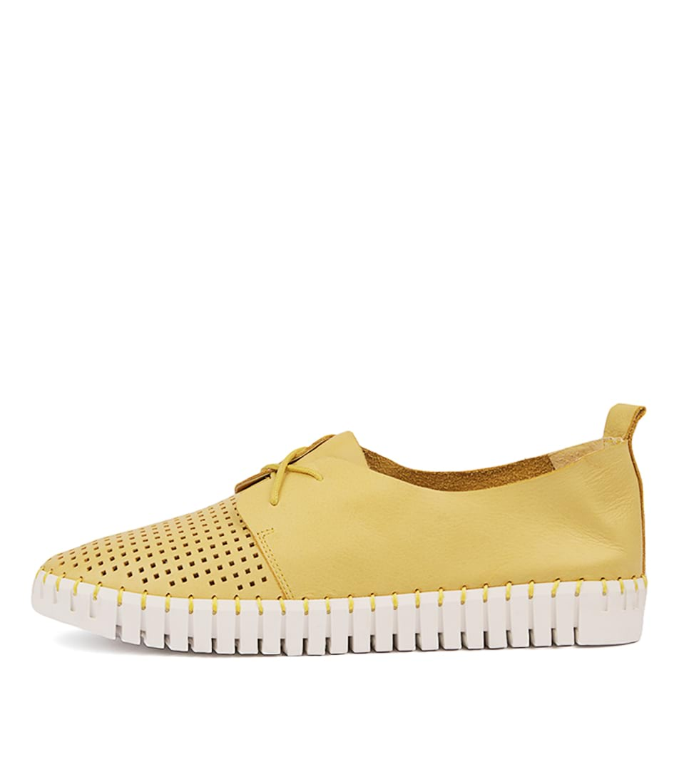 Buy Django & Juliette Huston Yellow Sneakers online with free shipping
