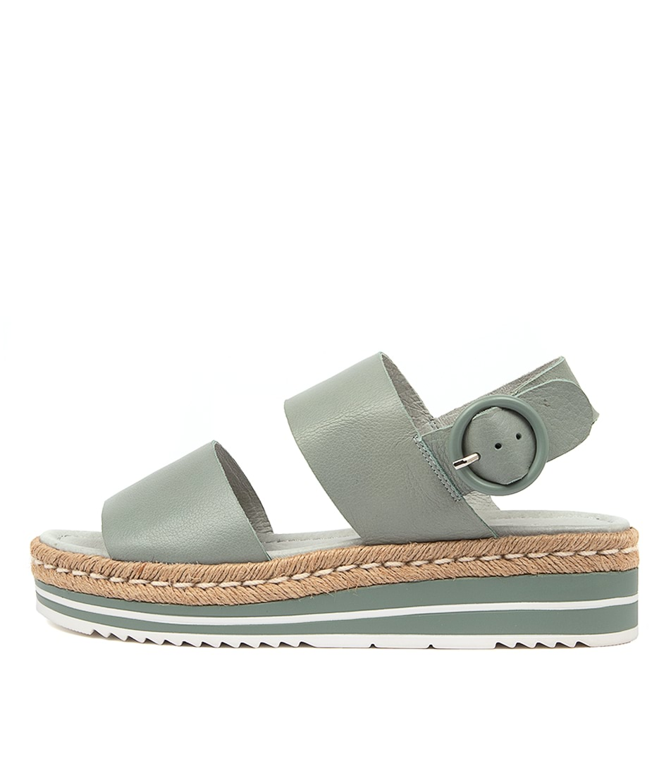 Buy Django & Juliette Atha Steel Flat Sandals online with free shipping