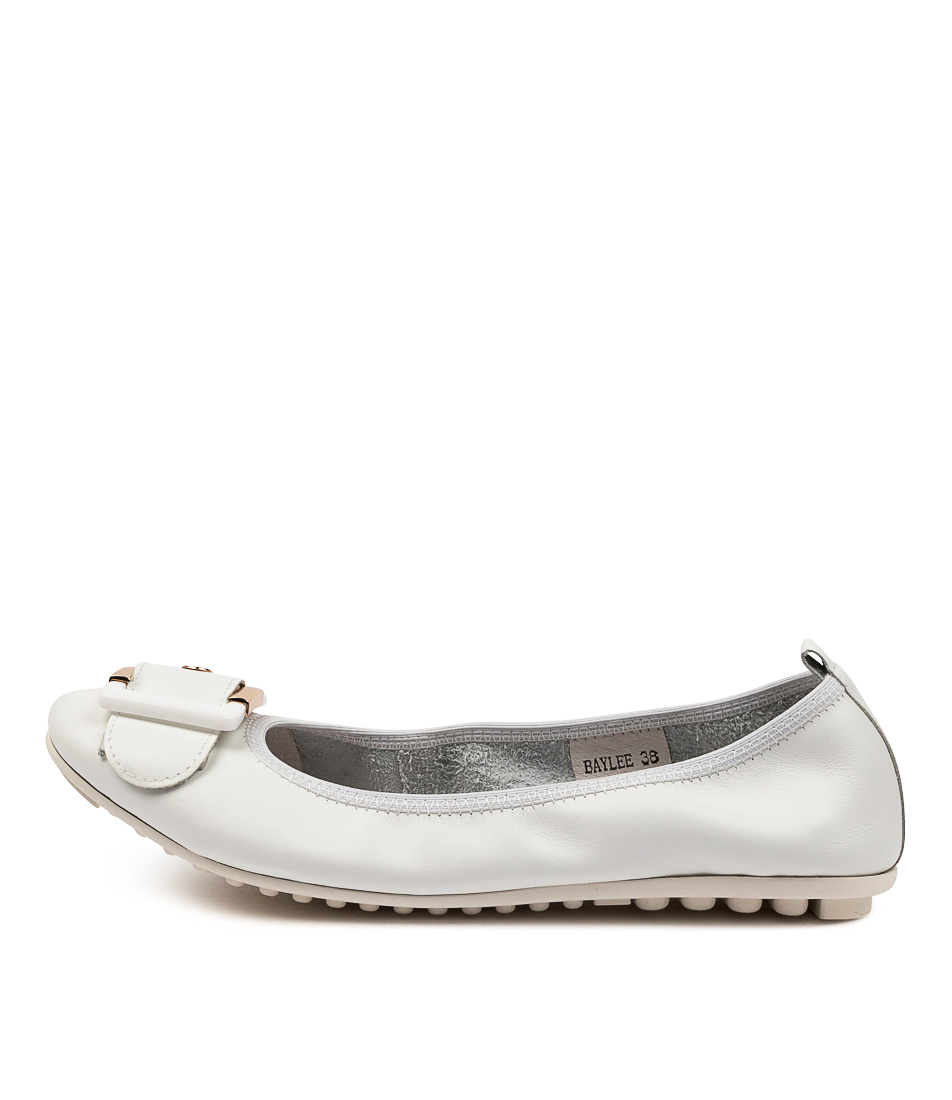 Buy Django & Juliette Baylee White Flats online with free shipping