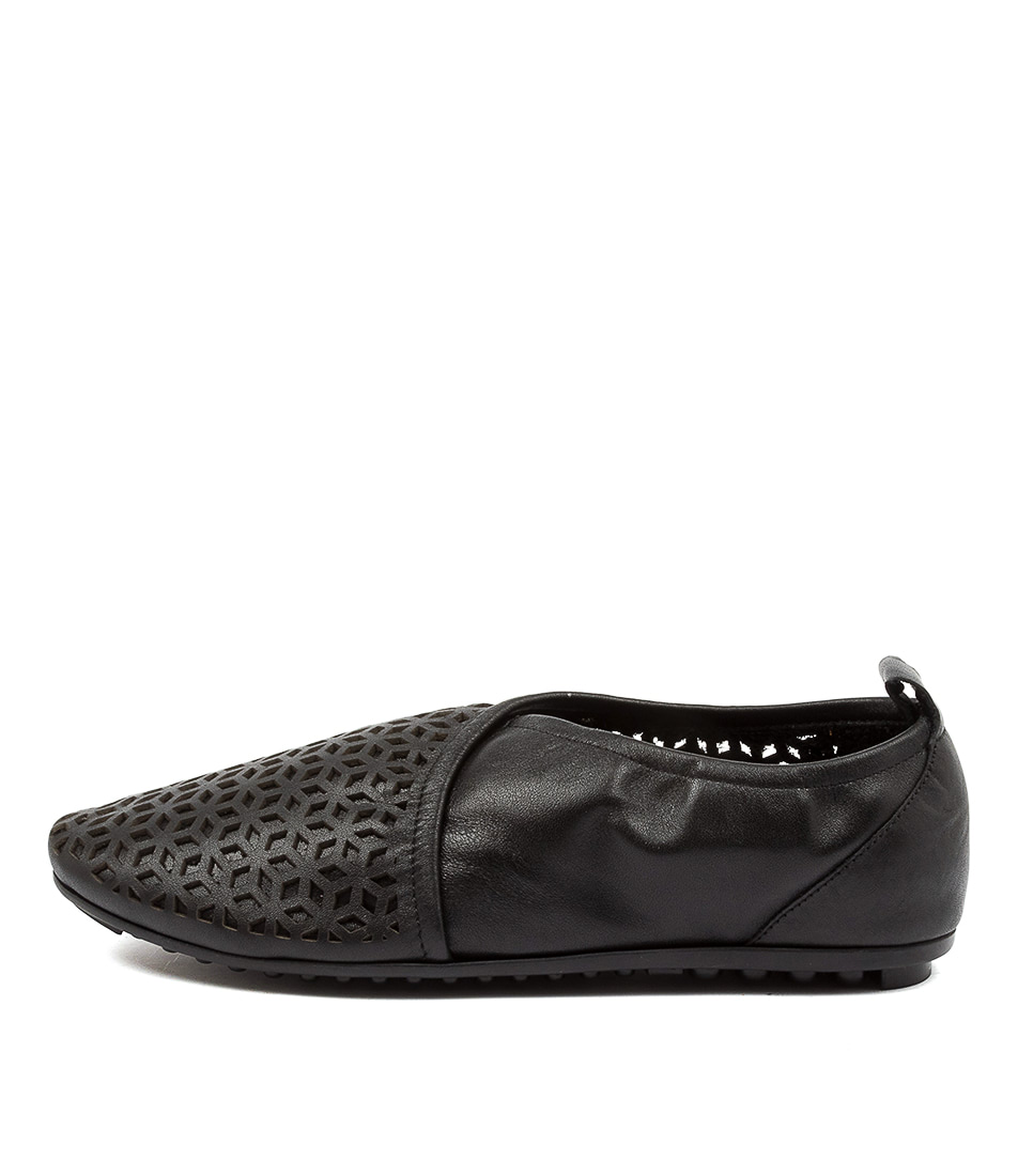 Buy Django & Juliette Bryon Black Flats online with free shipping