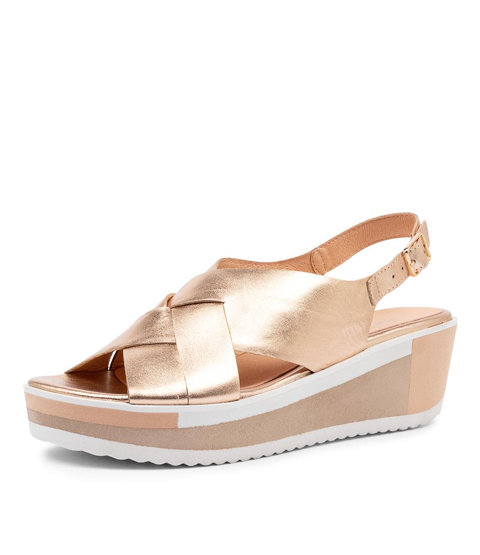 New-Django-amp-Juliette-Damari-Womens-Shoes-Casual-Sandals-Heeled thumbnail 13