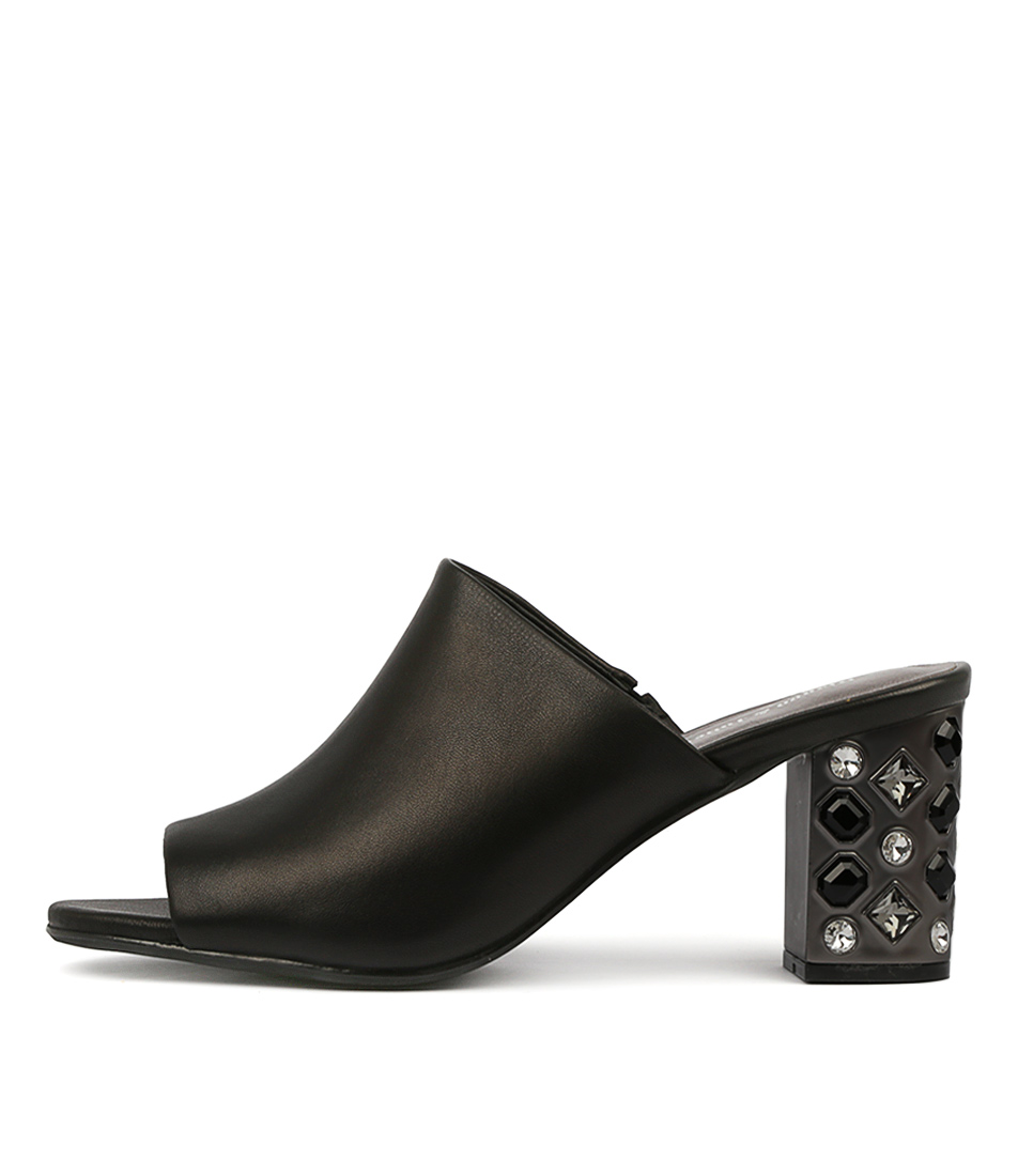 Buy Django & Juliette Flint Black Heeled Sandals online with free shipping