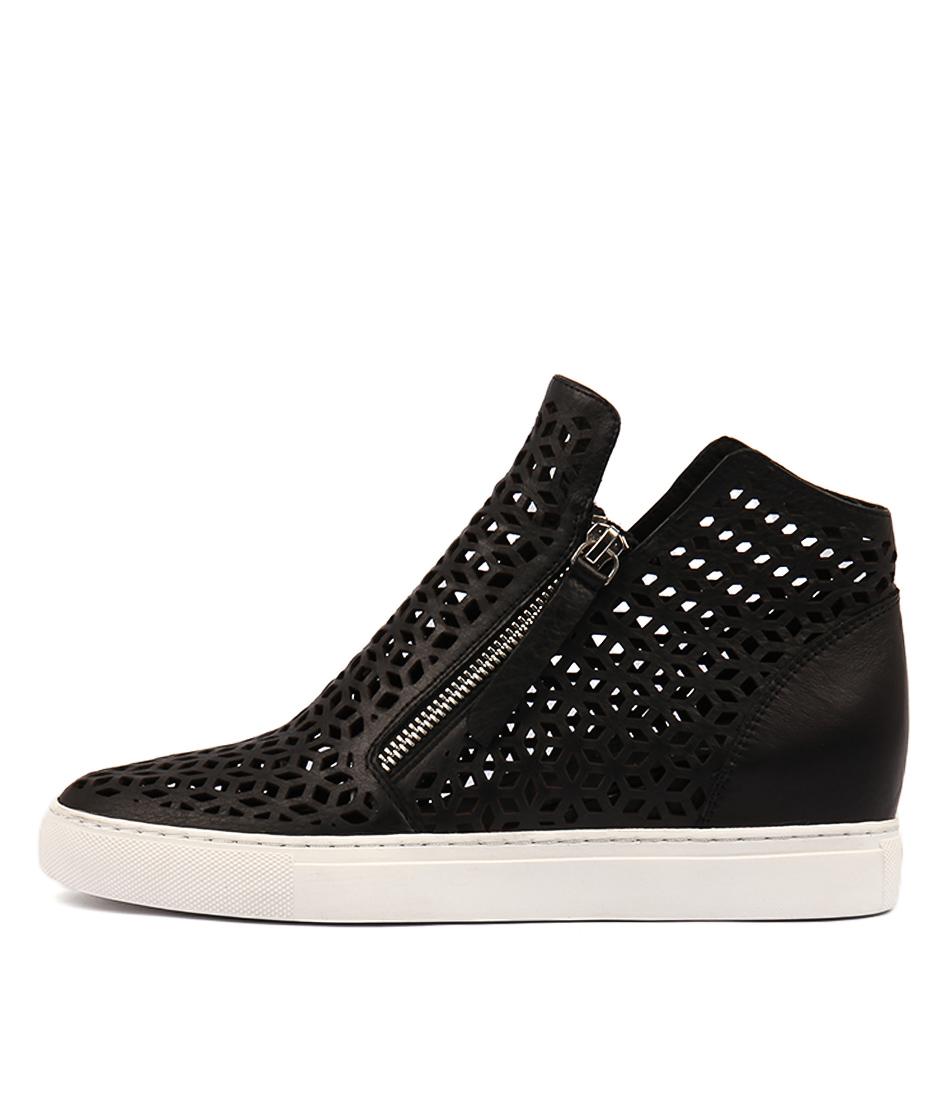 Django & Juliette Gaven Black Sneakers