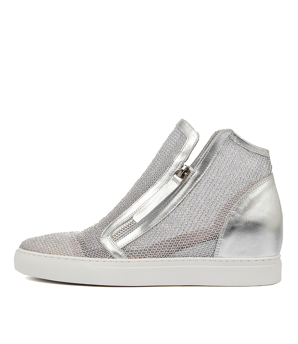 Buy Django & Juliette Gilmores Silver Sneakers online with free shipping