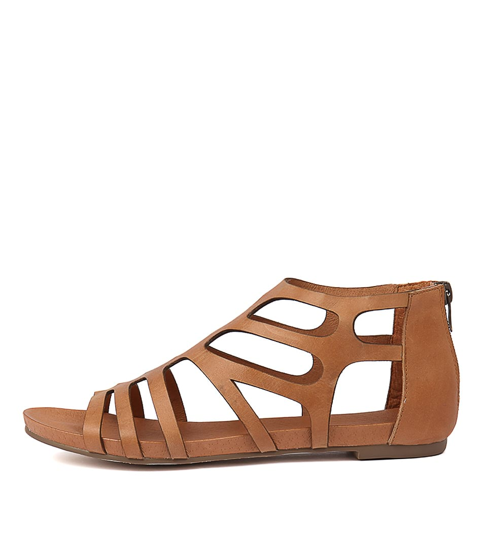Buy Django & Juliette Jasent Tan Flat Sandals online with free shipping