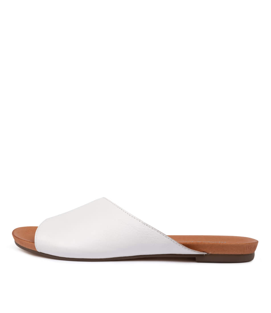 Buy Django & Juliette Jerica White Flat Sandals online with free shipping