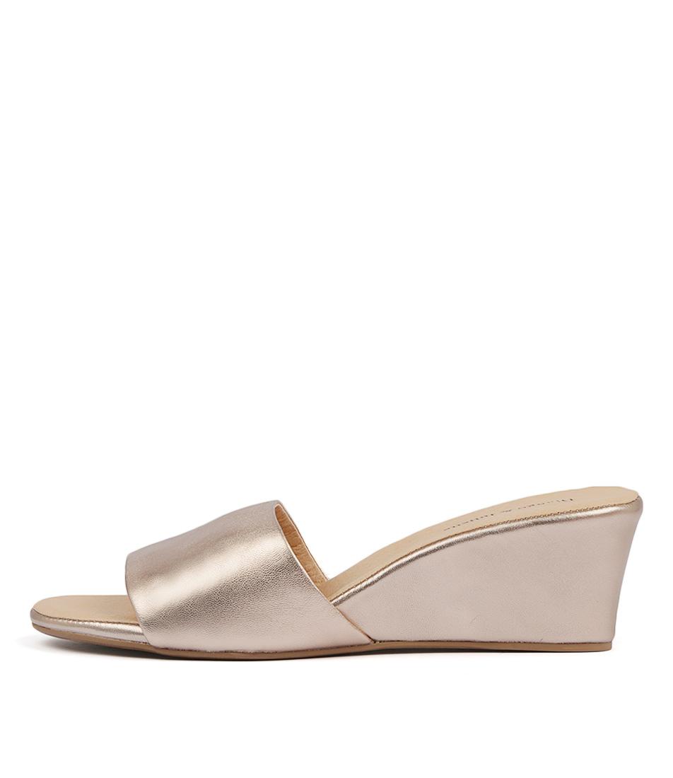 Buy Django & Juliette Lindas Rose Gold Rose Gold Heeled Sandals online with free shipping