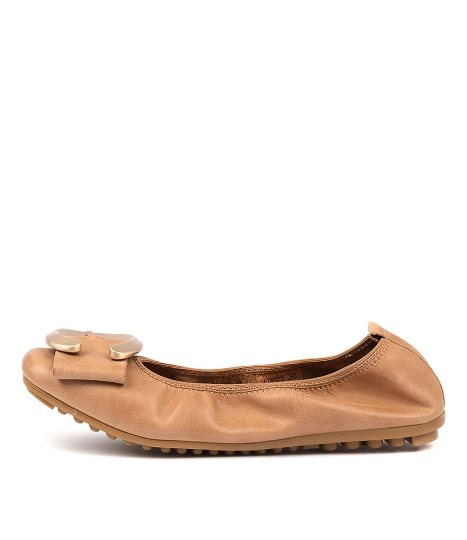 Buy Django & Juliette Linsey Tan Flats online with free shipping