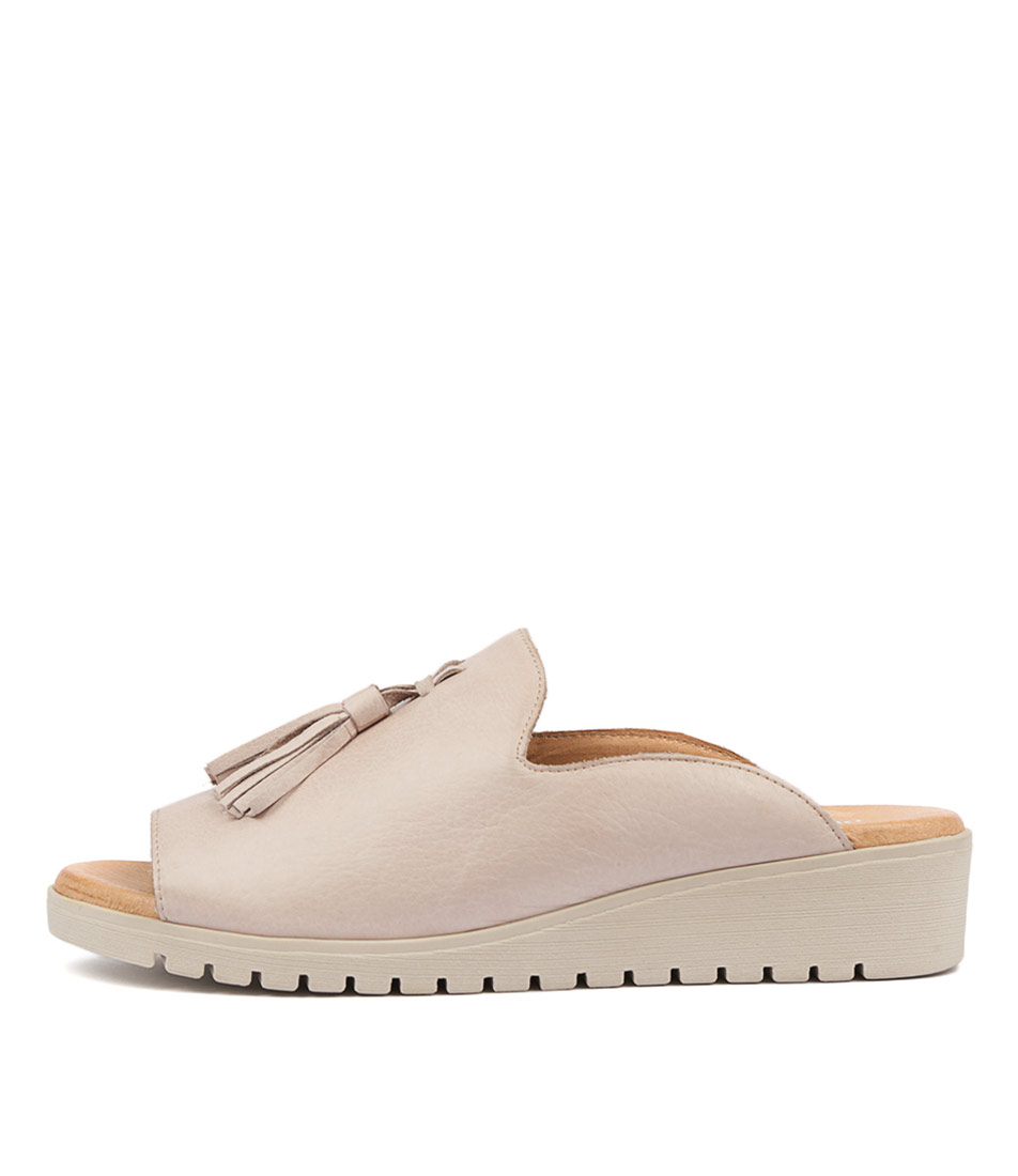 Buy Django & Juliette Mayson Pale Pink Pale Flat Sandals online with free shipping