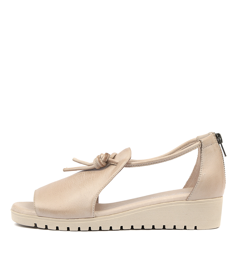 Buy Django & Juliette Melvin Nude Sole Flat Sandals online with free shipping