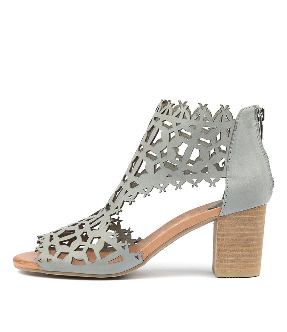 Buy Django & Juliette Shanon Steel Heeled Sandals online with free shipping