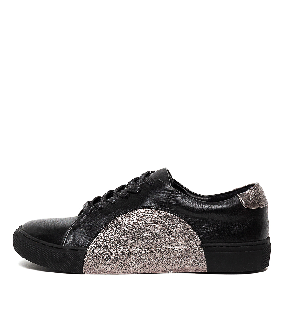 Buy Django & Juliette Worley Black Pewter Cr Sneakers online with free shipping