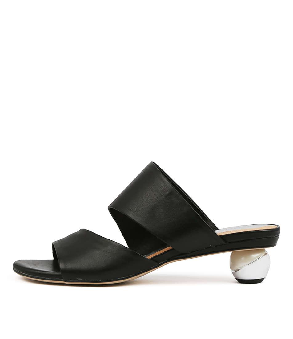 Buy Django & Juliette Delos Black Heeled Sandals online with free shipping