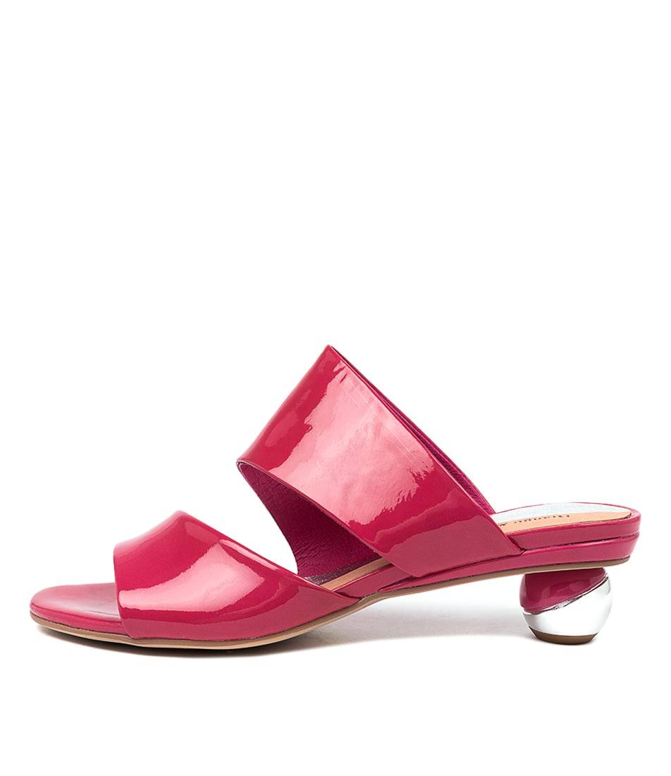 Buy Django & Juliette Delos Fuchsia Heeled Sandals online with free shipping