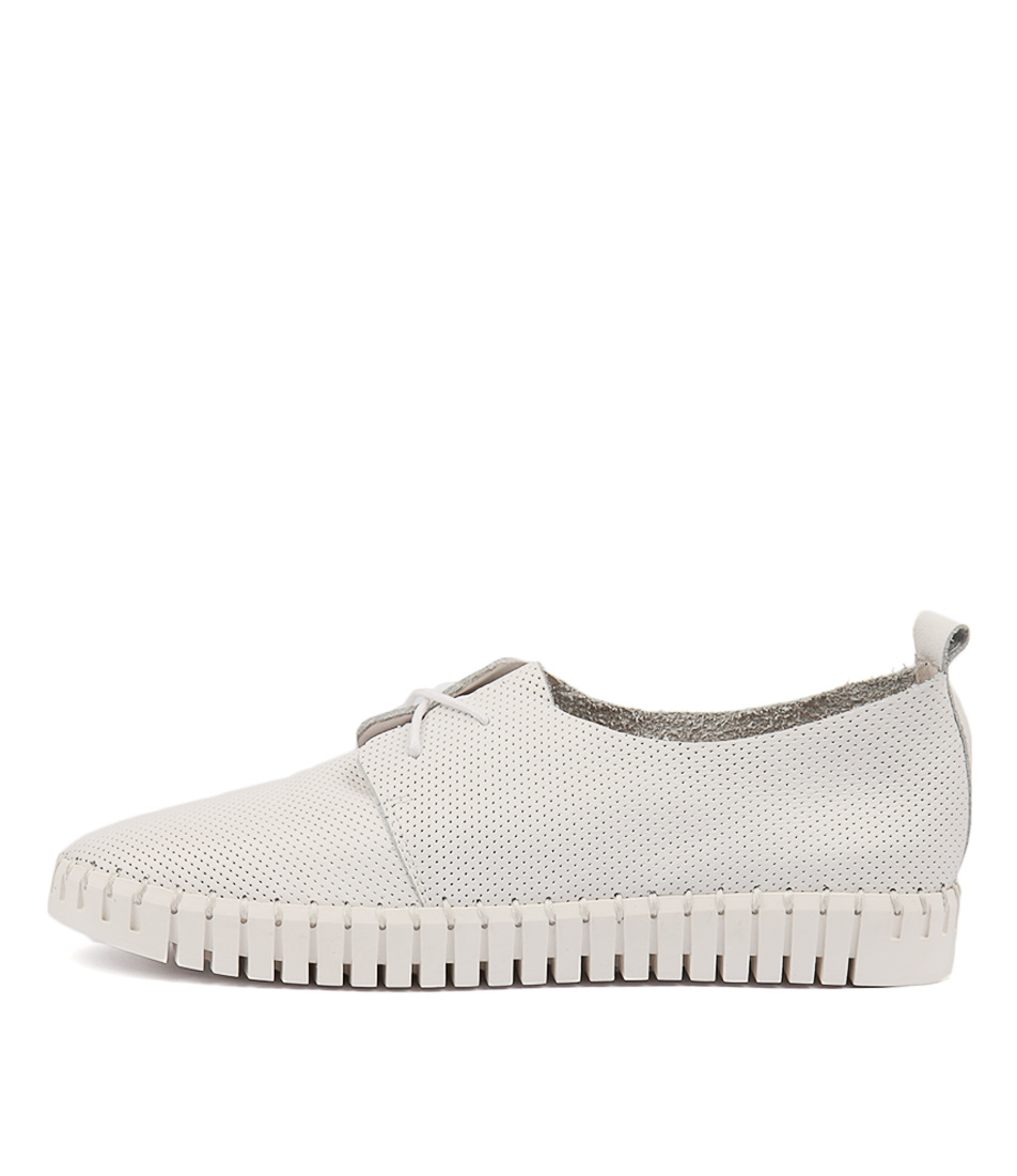 Buy Django & Juliette Halbert White Sneakers online with free shipping