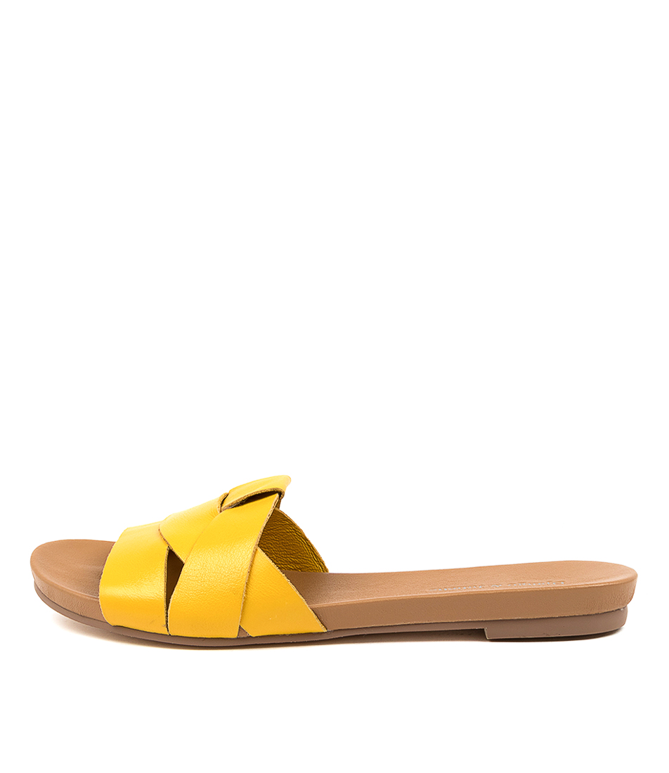 Buy Django & Juliette Just Buttercup Flat Sandals online with free shipping