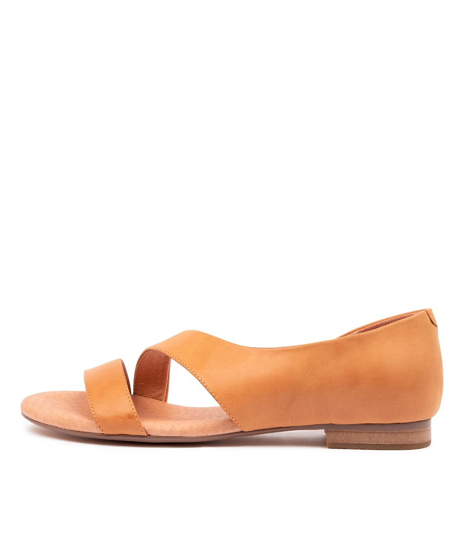 Buy Django & Juliette Purl Orange Flat Sandals online with free shipping