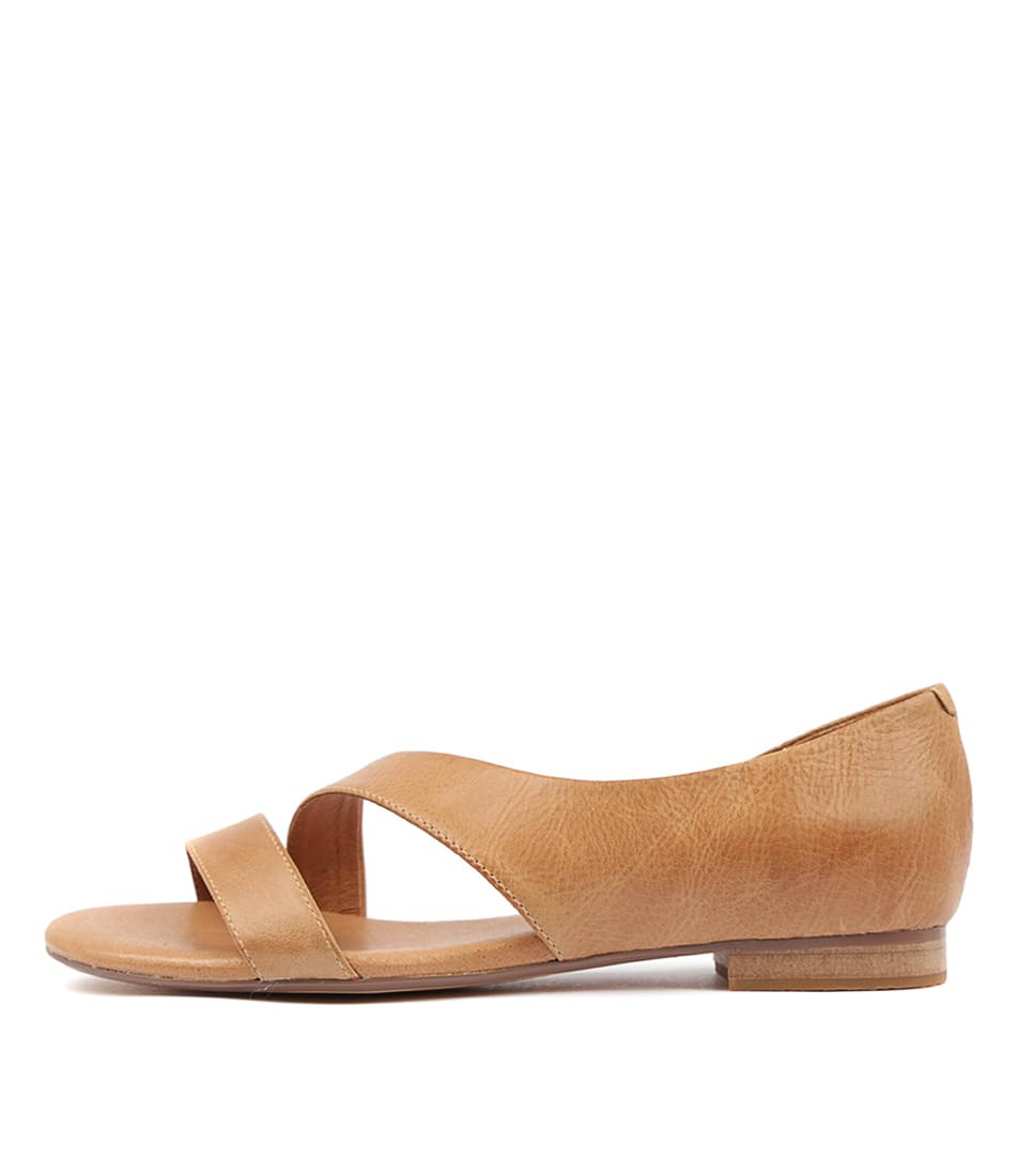 Buy Django & Juliette Purl Tan Flat Sandals online with free shipping