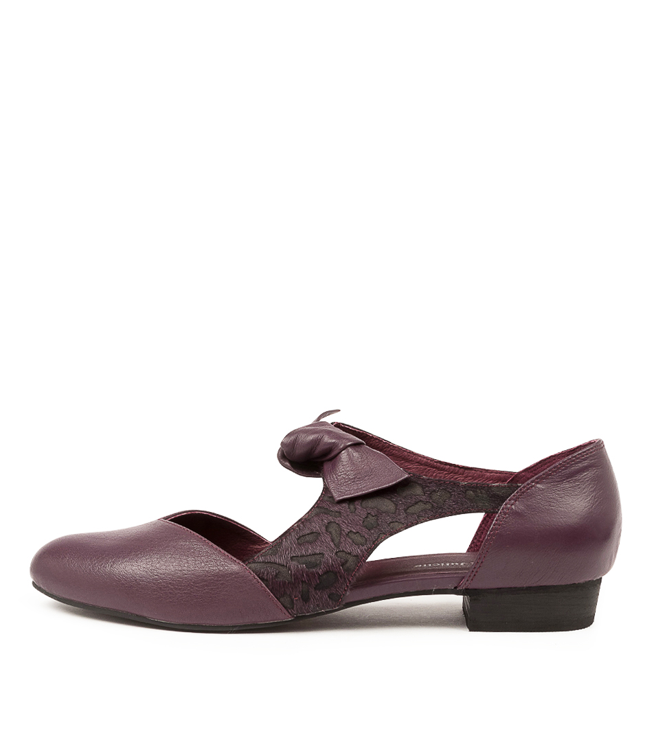 Buy Django & Juliette Esete Purple Purple Dot Flats online with free shipping