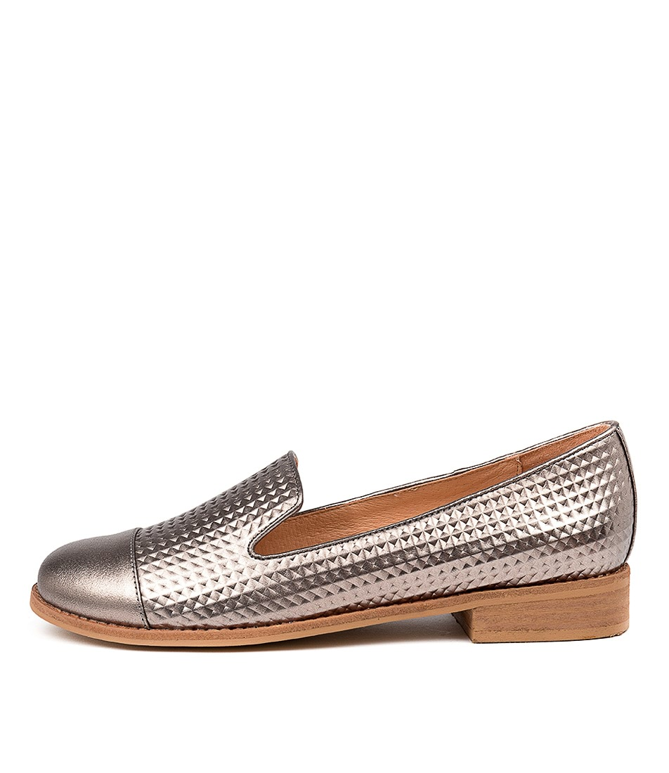 Buy Django & Juliette Alondra Pewter Pewter Flats online with free shipping