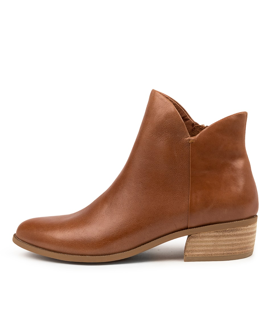 Buy Django & Juliette Chimeres Cognac Ankle Boots online with free shipping