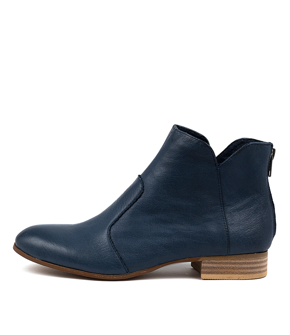 Buy Django & Juliette Fronia Navy Ankle Boots online with free shipping