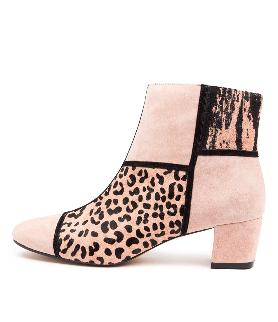Buy Django & Juliette Hernan Black Nude Ankle Boots online with free shipping