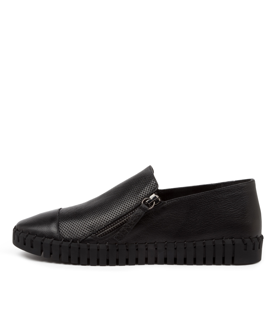Buy Django & Juliette Hung Black Sole Sneakers online with free shipping