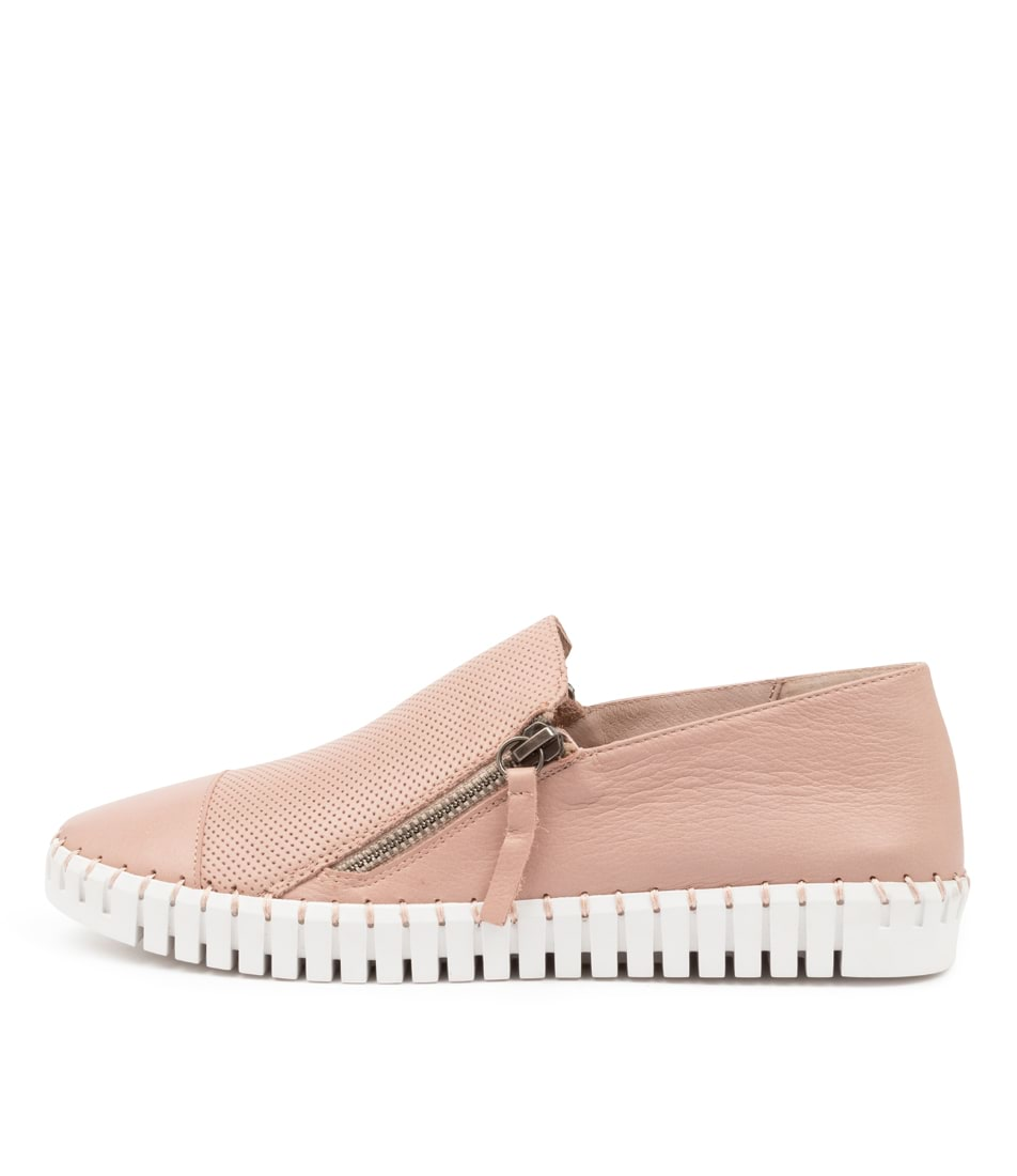 Buy Django & Juliette Hung Rose White Sole Sneakers online with free shipping