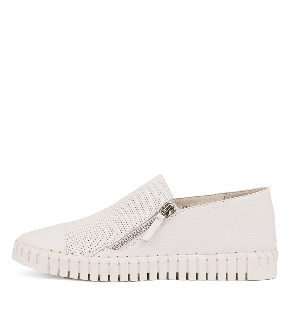 Buy Django & Juliette Hung White White Sole Sneakers online with free shipping