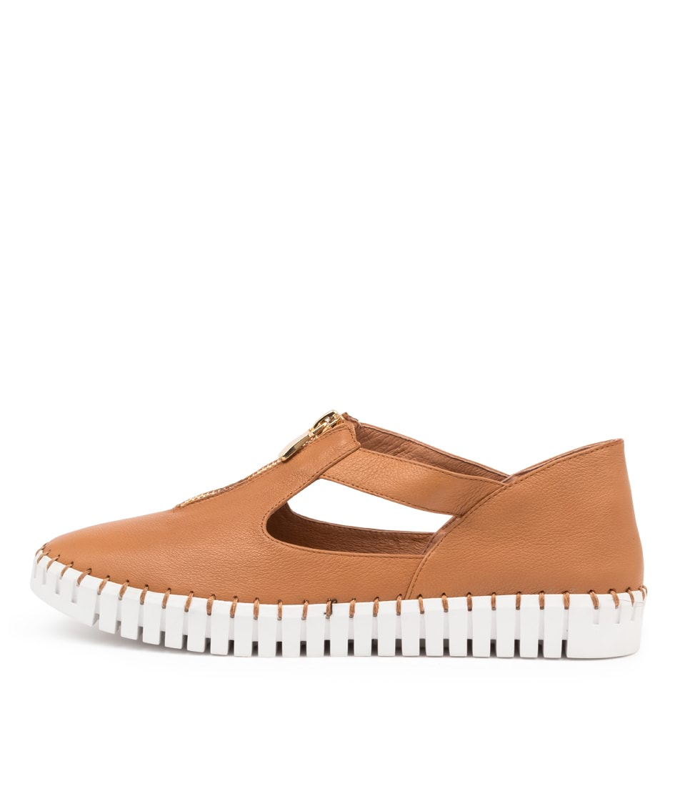 Buy Django & Juliette Hunting Dk Tan White So Sneakers online with free shipping
