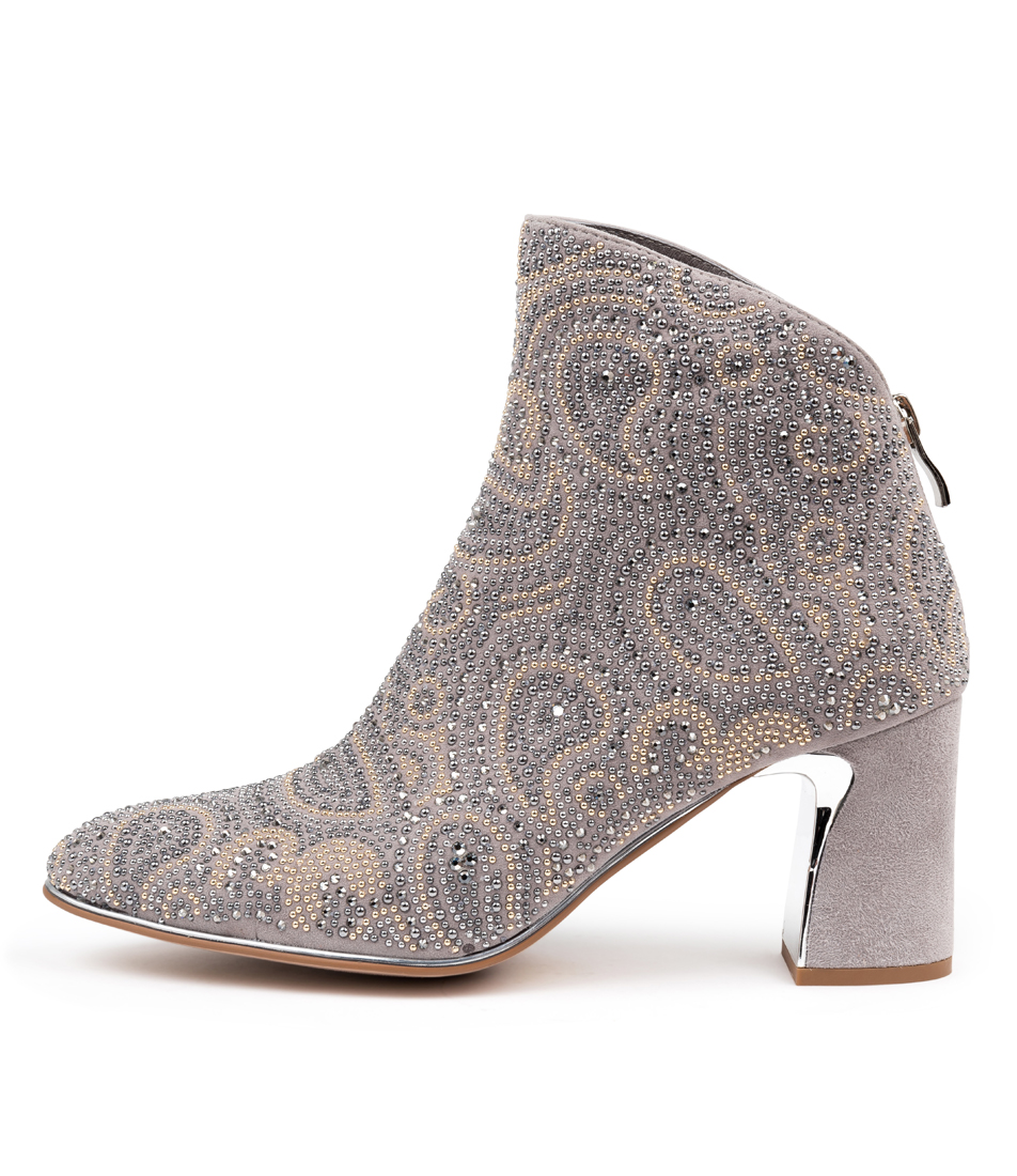 Buy Django & Juliette Kandace Misty Ankle Boots online with free shipping