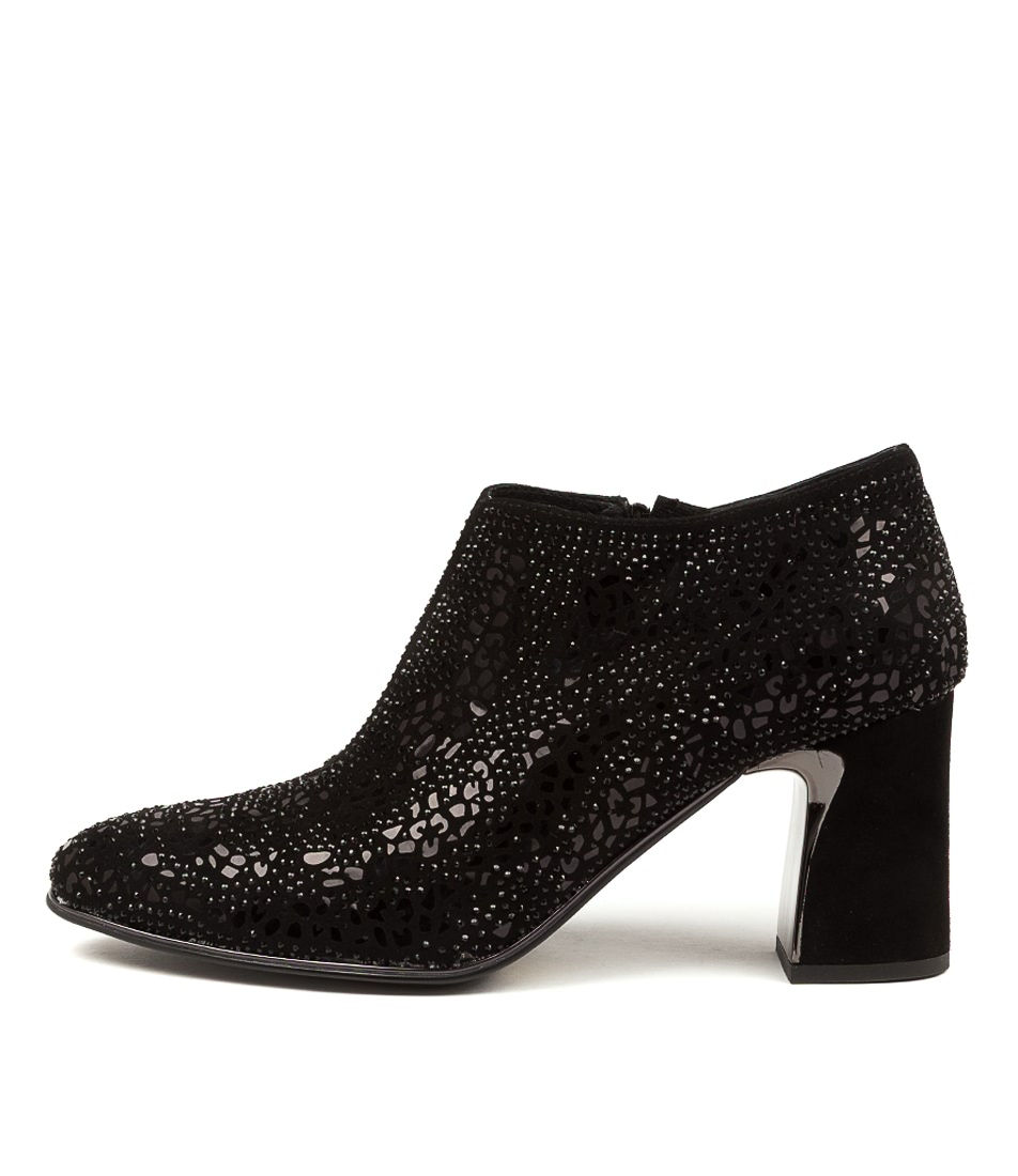 Buy Django & Juliette Keishars Black All Over High Heels online with free shipping