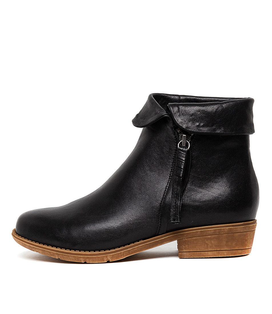 Buy Django & Juliette Rayford Black Ankle Boots online with free shipping