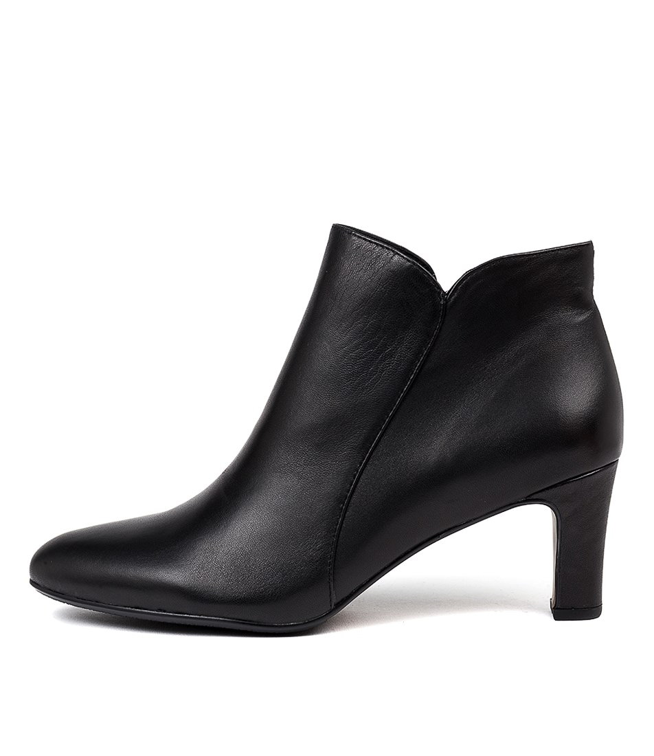 Buy Django & Juliette Tana Black Dress Ankle Boots online with free shipping