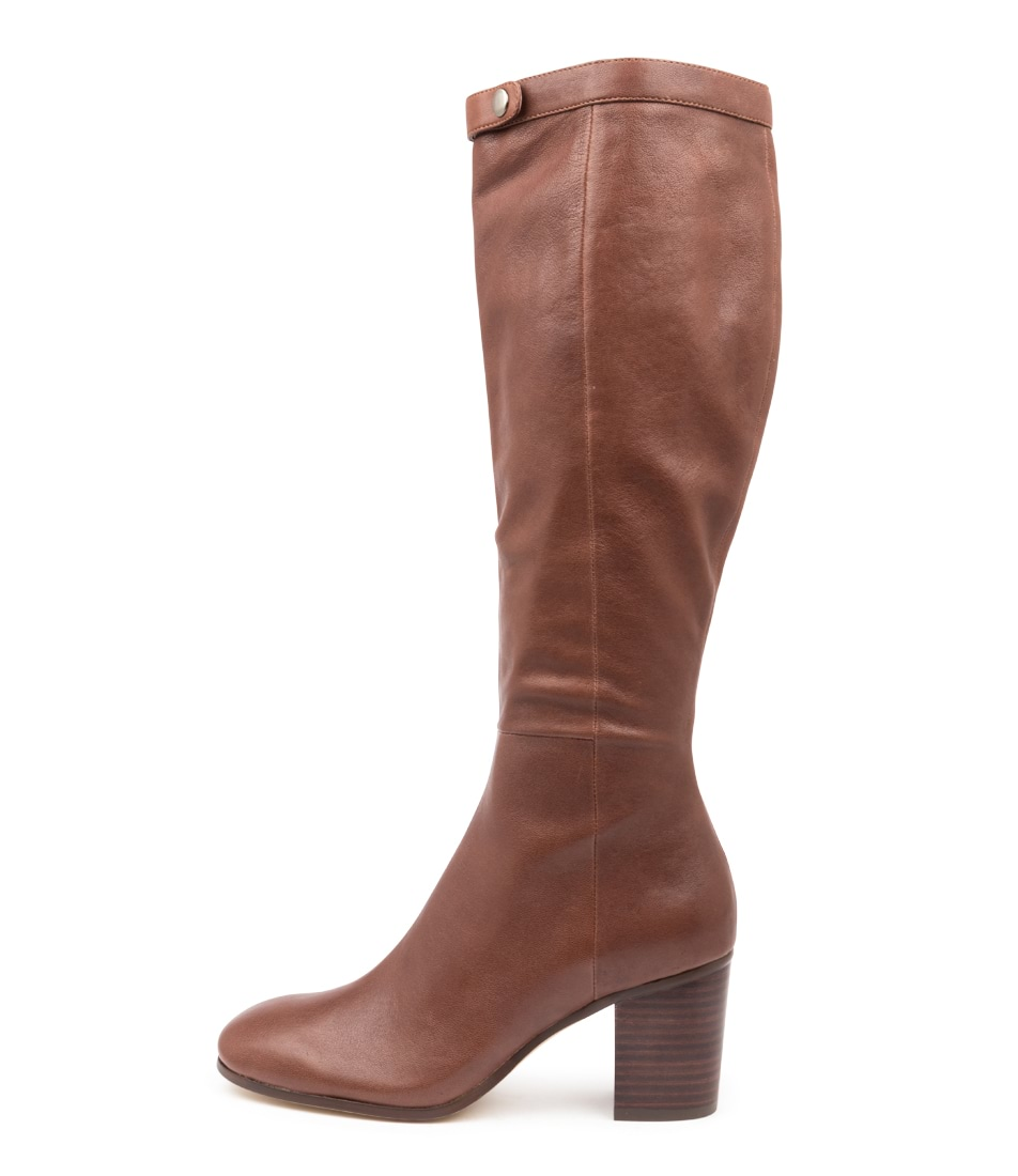 Buy Django & Juliette Theola Choc Long Boots online with free shipping