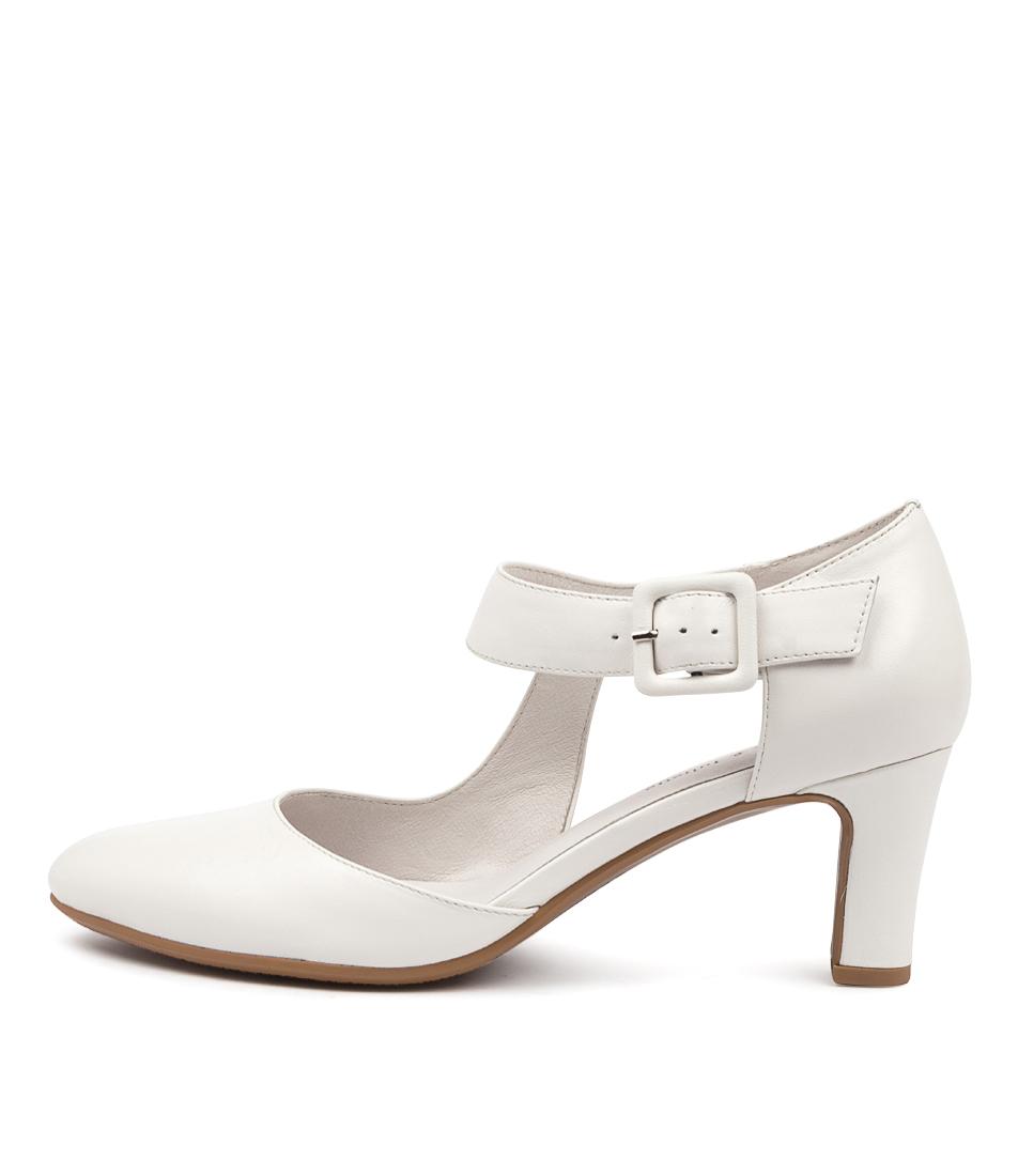 Buy Django & Juliette Trinities White High Heels online with free shipping