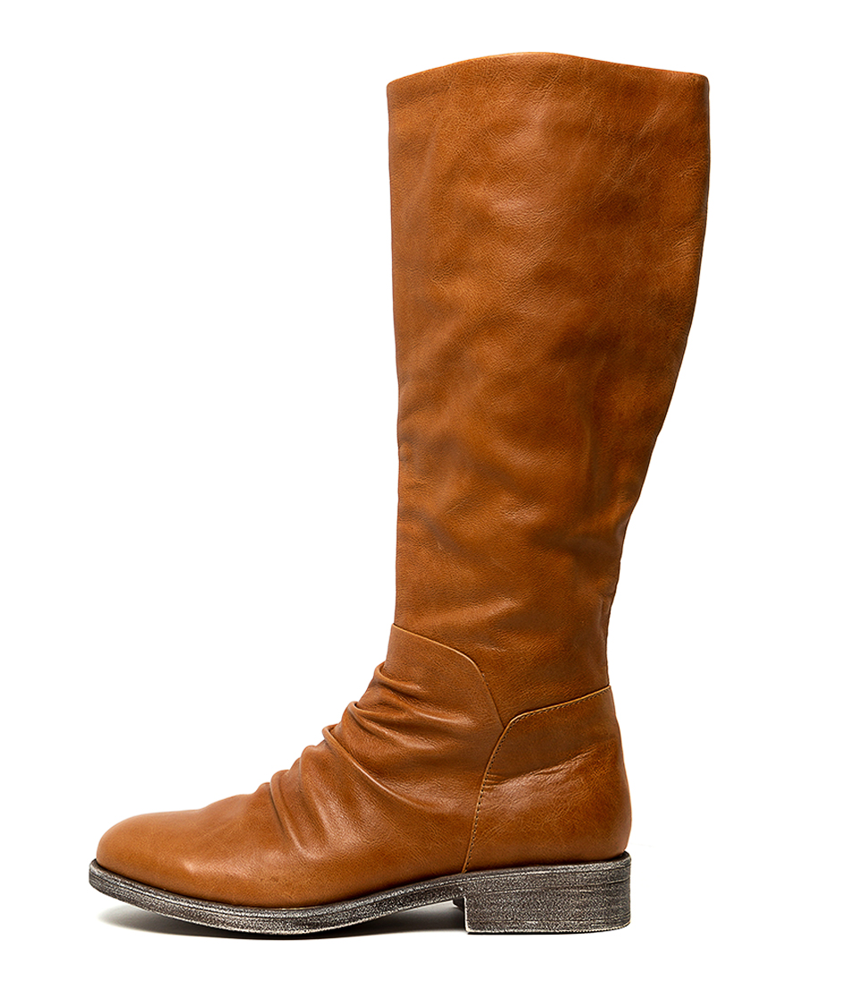 Buy Django & Juliette Malaki Tan Long Boots online with free shipping