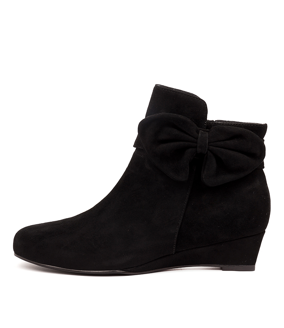 Buy Django & Juliette Willene Black Ankle Boots online with free shipping