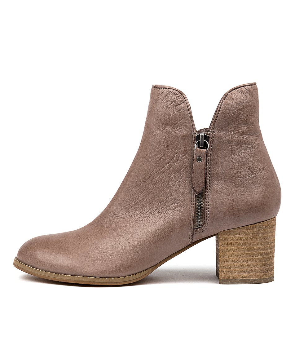 Buy Django & Juliette Shiannely Lrg Smoke Ankle Boots online with free shipping