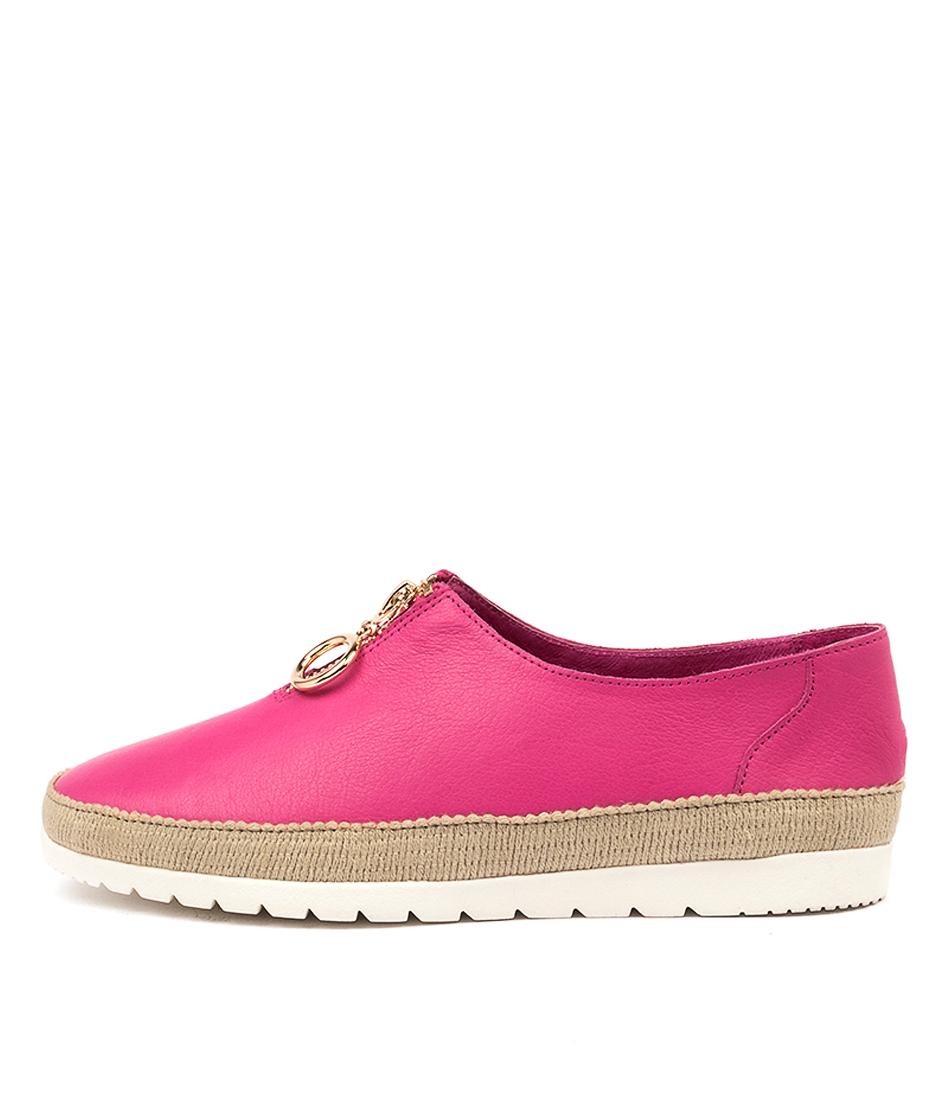 Buy Django & Juliette Vassie Fuchsia Flats online with free shipping