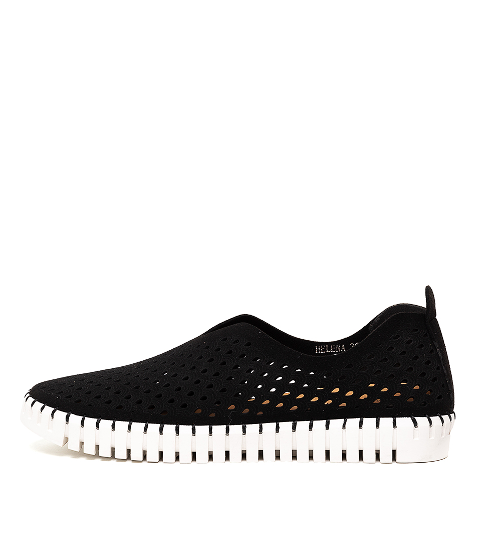 Buy Django & Juliette Helena Black Sneakers online with free shipping