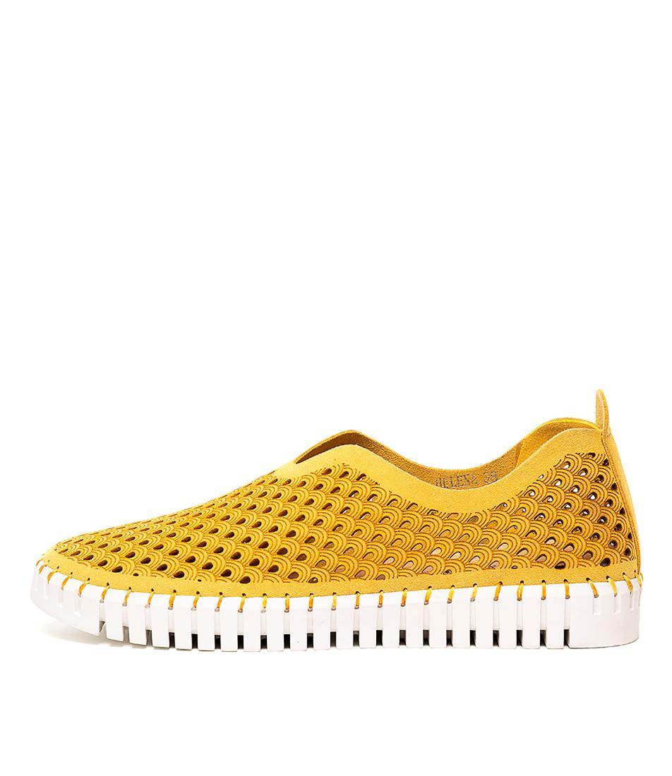 Buy Django & Juliette Helena Yellow Sneakers online with free shipping