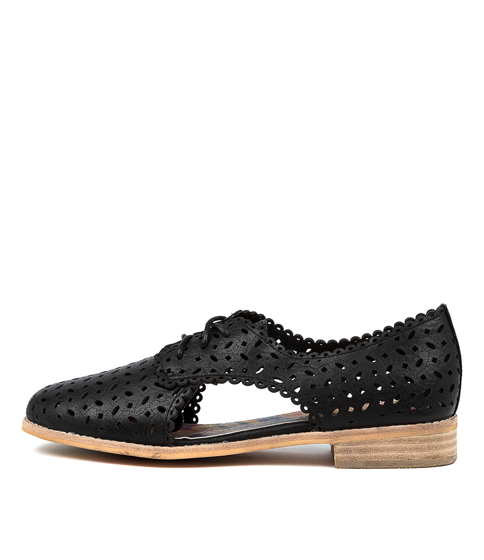 Buy Django & Juliette Agness Dj Black Flats online with free shipping