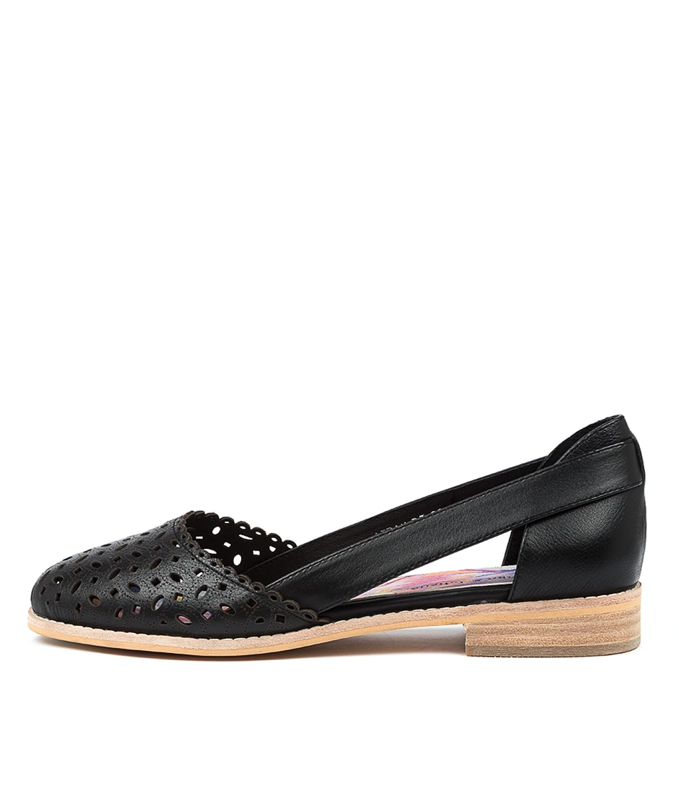 Buy Django & Juliette Aidan Dj Black Flats online with free shipping