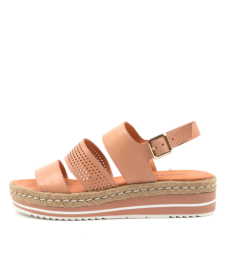 Buy Django & Juliette Akidnat Dj Cantaloupe Flat Sandals online with free shipping