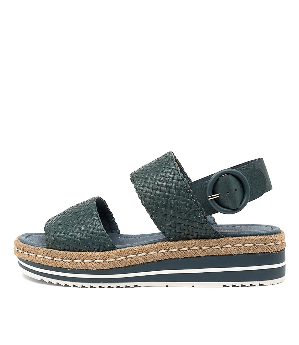 Buy Django & Juliette Alesha Dj Jeans Flat Sandals online with free shipping