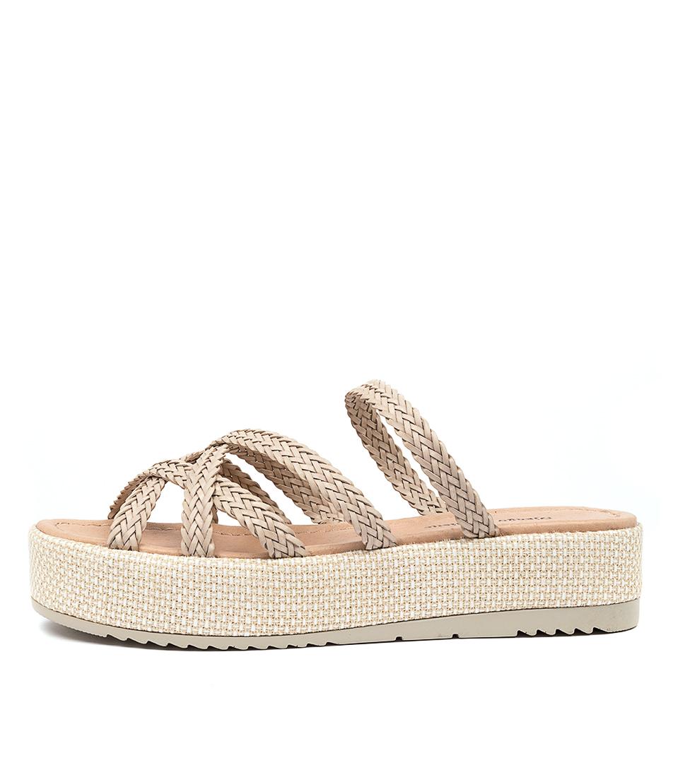 Buy Django & Juliette Alston Dj Nougat Heeled Sandals online with free shipping
