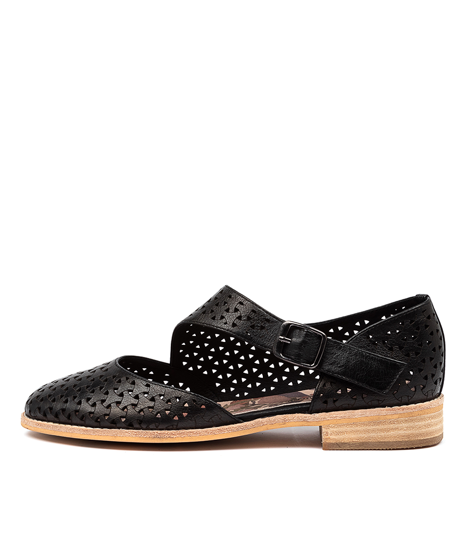 Buy Django & Juliette Alverda Dj Black Flats online with free shipping