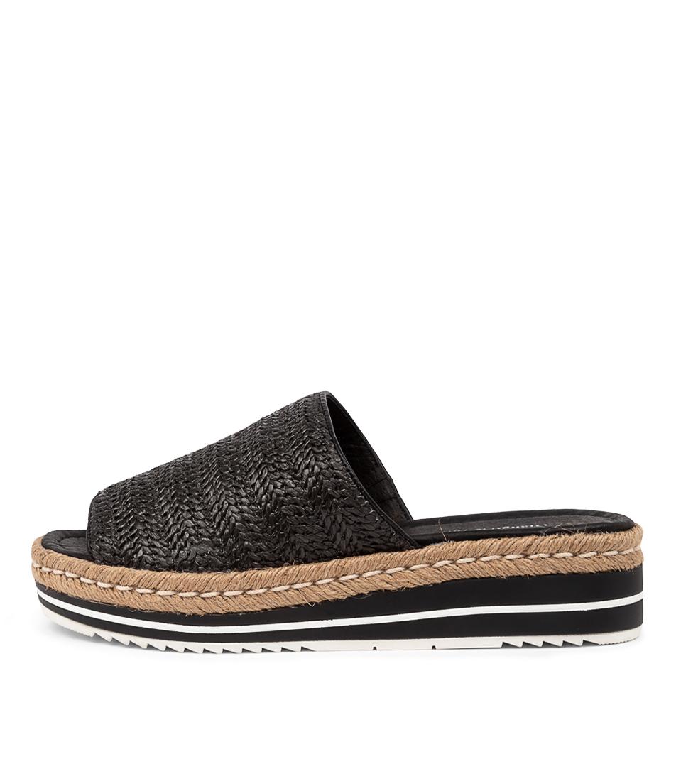 Buy Django & Juliette Aminah Dj Black Heeled Sandals online with free shipping